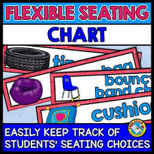 Flexible Seating Chart Classroom Management System Alternative Seating