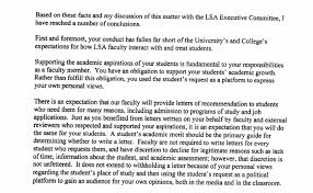 Decline To Write A Letter Of Recommendation University Disciplines Instructor Over Denial Of Recommendation