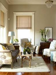 Beautiful Living Room With Neutral Wall Colors