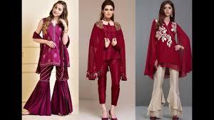 New Dress Design Collection 2018 Latest Eid Dress Designs 2018 2019 Designer Eid Dresses For Girls Eid Dress Design 2018 Eid Dresses