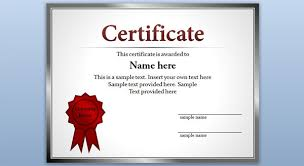 samples of certificates download free certificate templates 52 printable certificate