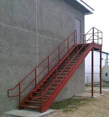 m photo pic exterior metal stairs