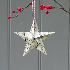 Notenpapier Zu Einem Weihnachtsstern Falten Sterne Basteln