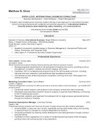 How To List Internship On Resume Megakravmaga Com