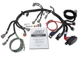 universal core & accessory wiring harnesses aem Subaru Stereo Wiring Harness Diagram pn 30 3805 universal v8 core harness