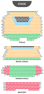 Academy Of Music Seating Chart Balcony Novello Theatre Seating Plan Watch Mamma Mia At West End