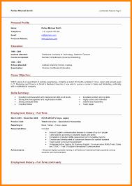 Profile Example On Resume Resume Profile Sample Resume For Study 23
