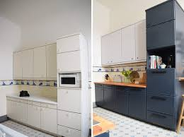 as you probably know we gave our kitchen a dramatic makeover earlier this year and turned it from a bland and boring space with plain off white cabinets