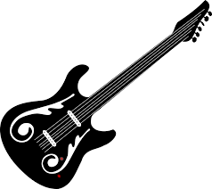 Electric Guitar Rock Free Vector Graphic On Pixabay