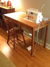 Sewing Machine Built In Table