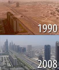 Dubai Before And After Unrecognizable Before And After Views Of Cities From Around The
