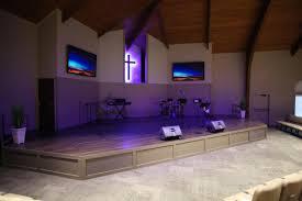 Church Stage Platform Design 2nd Mile Church Stage Design Church Interiors Inc