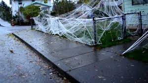 ... Stylish Idea Halloween Decorations Spider Web 17 SPIDERWEB HALLOWEEN  DECORATIONS OCT 312012 HAPPY FRONT ...