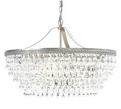 crystal drop chandelier glass