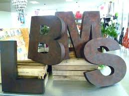 large wooden wall letters large letters for wall large metal wall letters can cardboard block