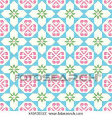 Pattern In Spanish Cool Clipart of Spanish tiles pattern Moroccan and Portuguese tile