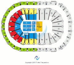 The Arena At Gwinnett Center Seating Chart