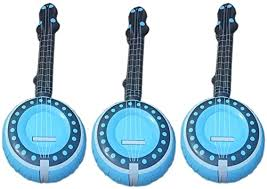 Amosfun Inflatable Musical Instrument Lute Shaped ... - Amazon.com