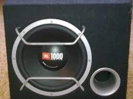 JBL set ( Subwoofer 1000W + JBL amplifier + JBL 2 speakers )