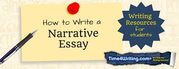 how to write a narrative essay timewriting in a narrative essay the writer tells a story about a real life experience everyone enjoys a good story especially one that captures the imagination
