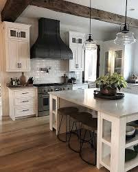 Farm Kitchen Design Stunning Pin By Sarah Kline On Kitchen In 48 Pinterest Home Decor