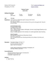 cover letter career services vt Job and Resume Template EAD for H Filing  Experience Check List