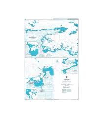 Nautical Charts Central America British Admiralty Nautical Chart 2417 Harbours On The North Coast Of Central America