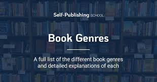 Book Genres Writing Genres Dictionary Examples Word Counts