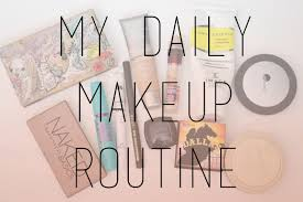 my daily makeup routine by christine lee july 27 2016 hope