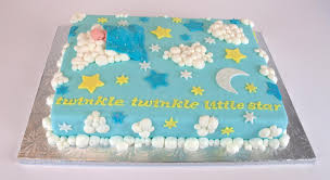 Sugarbird Sweets and Cakery: Baby Cakes, shower cakes and birthday ... & ... under a cozy blue baby quilt. To finish off the cake, we made the stars  glitter and sparkle! We loved the finished product and hope the  soon-to-be-mommy ... Adamdwight.com