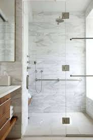 Walk In Shower With Marble Walls : Amazing Bathroom Marble Shower Walls