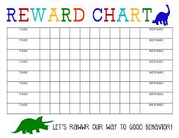 Behavior Reward Chart Printable Printable Reward Chart Reward Chart Kids Printable Reward