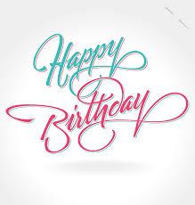 Happy Birthday Notes Design Vector Free Vector Graphic Download