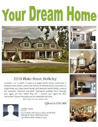 Home For Sale Flyer Template Word Inspiration Free Flyers