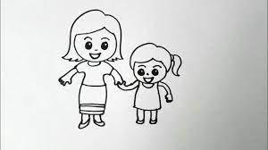 วาดรูป วันแม่ ความรักของแม่ ผู้มีพระคุณ วาดง่ายๆ สอนวาดรูป วันแม่ - YouTube