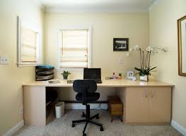 home office decor brown simple. Office:Best Brown Wood Home Office Decor With Computer Desk And Textured Simple A