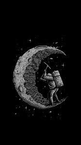 Black moon, lock, locked, magenta ...