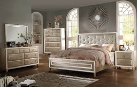 And Silver Bedroom Furniture On Mirrored Headboard Set With Mirror Davis  International Bedroom Furniture