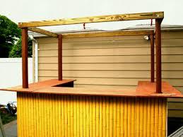 backyard tiki bar ideas outdoor bar plans with roof tiki sets build a backyard sheds