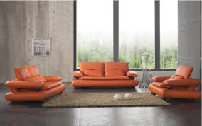 Orange Living Rooms Brown And Orange Living Room Ideas Home Wall Decoration