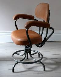 industrial office chair. Vintage Industrial Art Studio Desk Chair C.1950 - Ormston Saint Chairs Office F