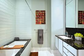 Modern Rental Apartment Bathroom Interior Design Broad