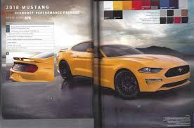2018 ford 7 0. plain 2018 2018 mustang order guide intended ford 7 0