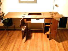 Dual Sewing Machine Table