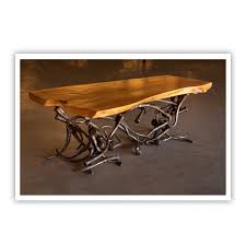 metal furniture design. Custom Tangle Cocktail Table Metal Furniture Design