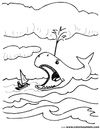 Ds Bible 1 Coloring Page Jonah And The Whale Color Gerrydraaisma