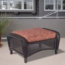 madaga ottoman replacement cushion set of 2 beige