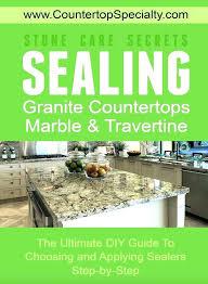 granite sealer best countertop reviews