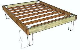homemade wood bed frame bed frame homemade wood bed bed frame queen bed frames on beds