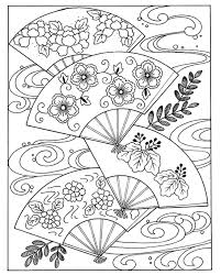 Small Picture Free coloring page coloring japanese hand fan coloring japanese